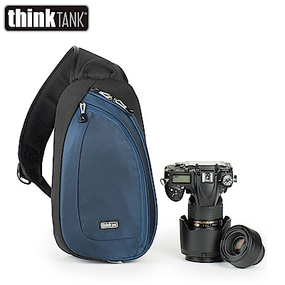 thinkTank 創意坦克 TurnStyle 10 V2.0 翻轉包-中 單肩斜背-藍
