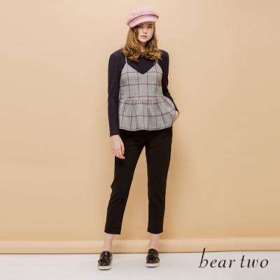 beartwo-抽繩休閒褲-兩色