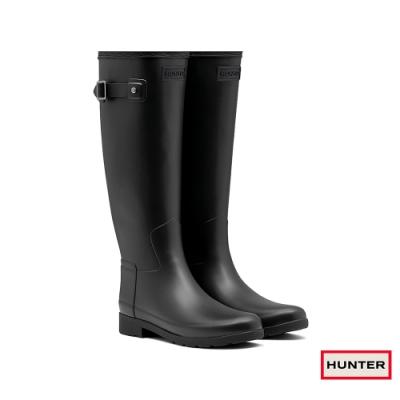 HUNTER - 女鞋 - Refined霧面長靴 - 黑