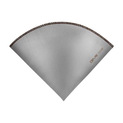Driver 不鏽鋼環保濾紙(錐形)1-2cup.環保咖啡濾紙304不鏽鋼濾紙便攜極細濾網
