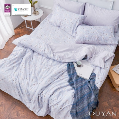 DUYAN竹漾-3M吸濕排汗奧地利天絲-雙人加大床包三件組-珀希拉恩