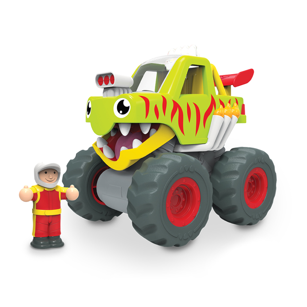 【WOW Toys 驚奇玩具】 怪獸卡車-馬克