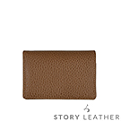 STORYLEATHER Style 00378 牛皮名片夾 荔枝紋駝色