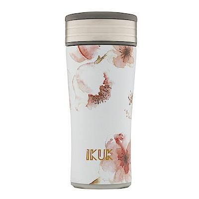 IKUK艾可 陶瓷保溫杯好提簡約360ml