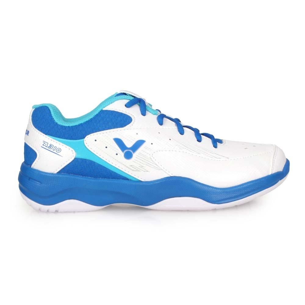 VICTOR 男專業羽球鞋-3E-訓練 羽毛球 寬楦 透氣 勝利 U型楦 A310-AF 白藍銀