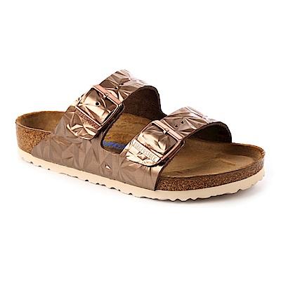 勃肯BIRKENSTOCK 1008485。ARIZONA經典二條拖鞋(光譜銅)