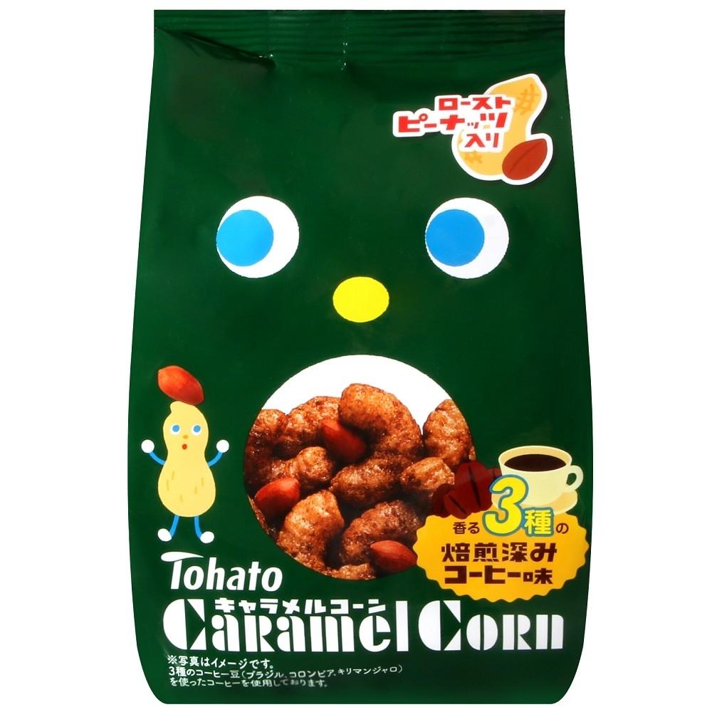 Tohato東鳩 焦糖玉米脆果-深煎咖啡(77g)