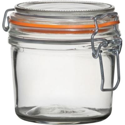 《Utopia》扣式玻璃密封罐(橘350ml)
