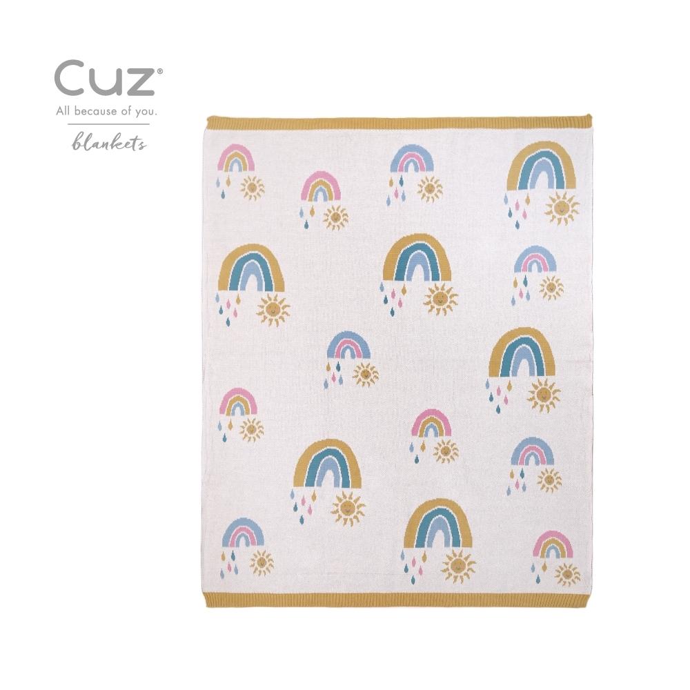 Cuz 有機棉織毯(多款任選)