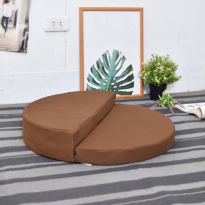 窩床的日子- 舒適透氣 半圓手提拜墊 跪墊/拜墊/坐墊