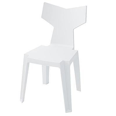 日居良品-2入組-Mod美式風格造型餐椅-休閒椅