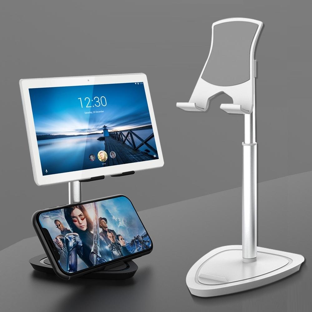 YANGYI揚邑 追劇直播伸縮合金手機平板iPad桌上支架