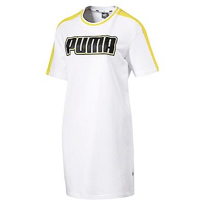 PUMA-女性基本系列Rebel Reload連身裙-白色-歐規