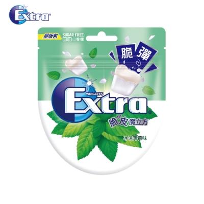 Extra 薄荷脆皮魔立方無糖口香糖(26粒)