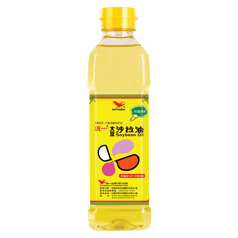 統一 大豆沙拉油-760ml/罐