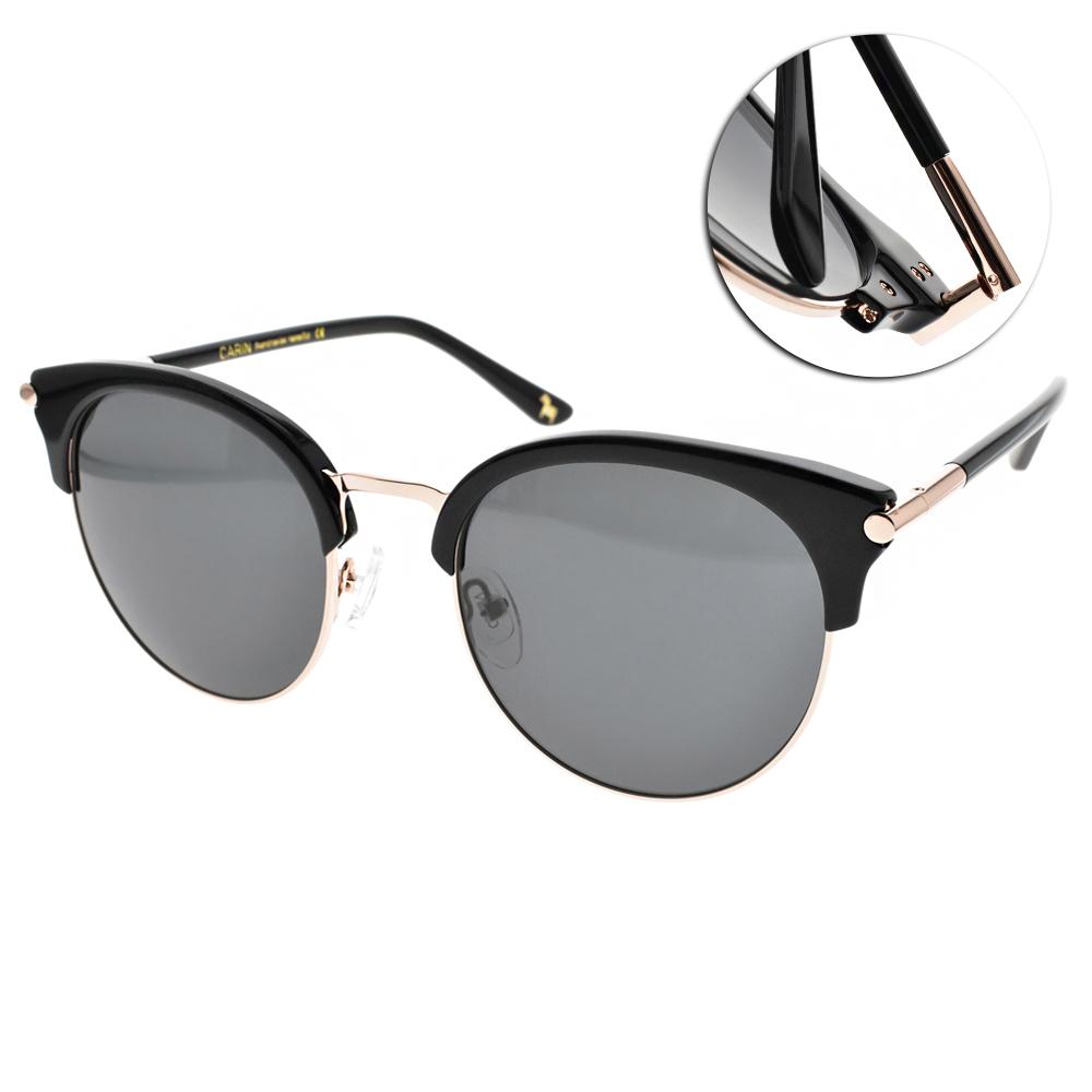 CARIN太陽眼鏡 秀智代言 造型貓眼款/黑金 #LOIST2 C1