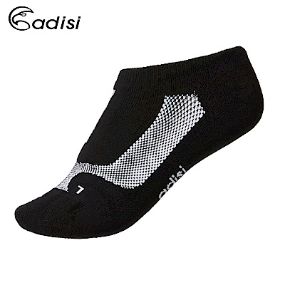 ADISI 抗菌除臭運動慢跑踝襪AS15208 黑/白