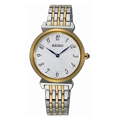 SEIKO 氣質優雅時尚女錶/SFQ800P1/7N00-0BM0K