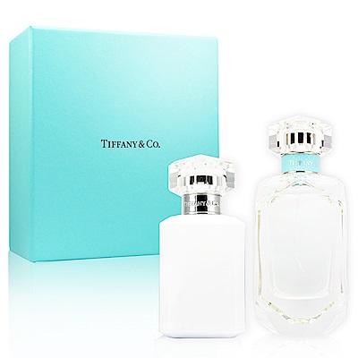 Tiffany&Co. 同名淡香精禮盒(淡香精75ml+身體乳100ml)(速)