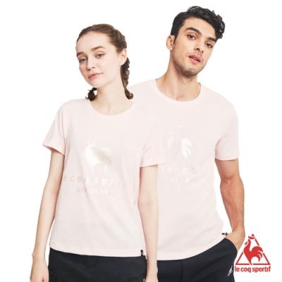 法國公雞牌短袖T恤 LLN2310372-中性-粉