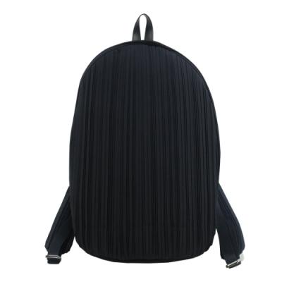 ISSEY MIYAKE 三宅一生 PLEATS PLEASE 褶紋後背包-黑