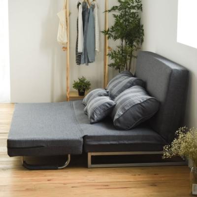 Home Feeling 兩用雙人獨立筒沙發/沙發床/沙發椅(4色)-148x61x82.5cm