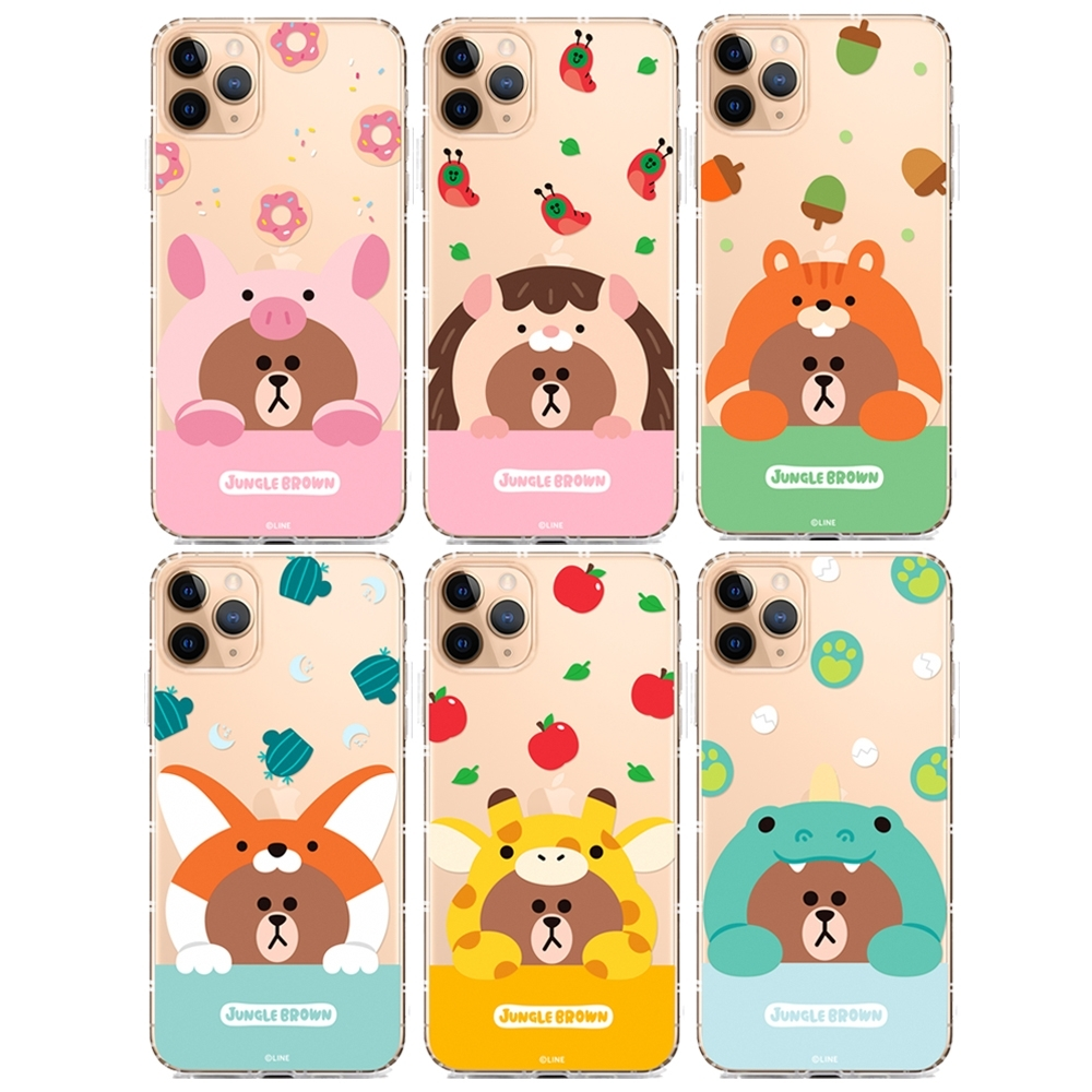 GARMMA LINE FRIENDS iPhone 11 Pro Max軟殼 product image 1