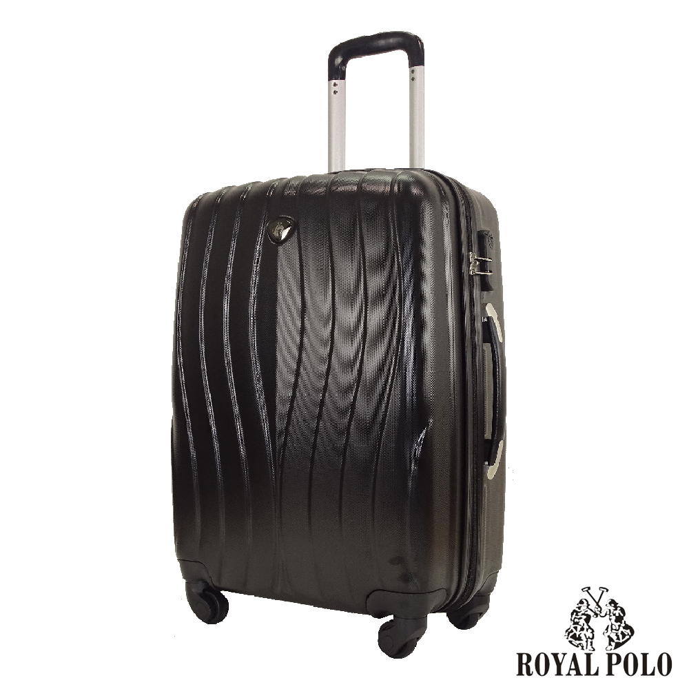 ROYAL POLO  28吋  凌波微舞ABS硬殼拉鍊箱/行李箱 (尊爵黑)