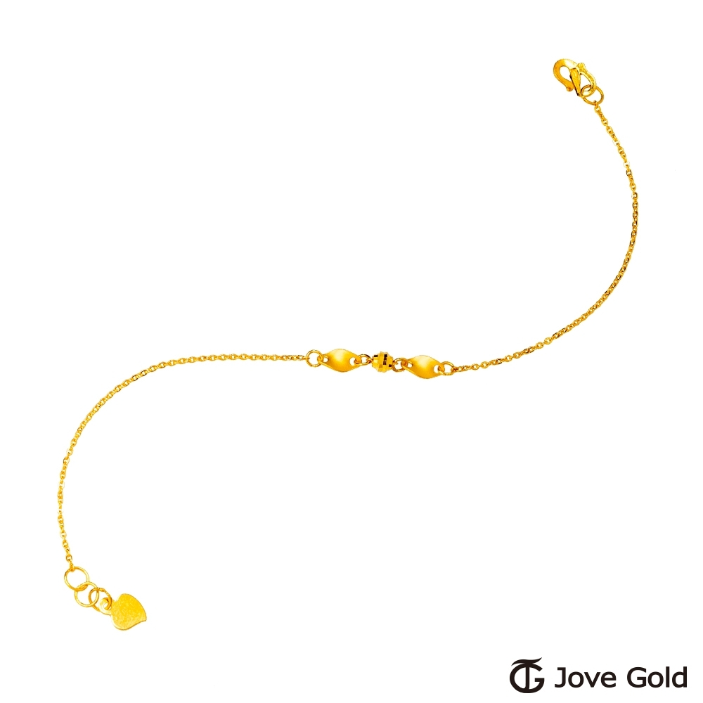 Jove Gold 漾金飾 關於我黃金手鍊