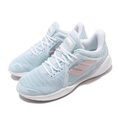 adidas 慢跑鞋 ClimaCool Vent 運動 女鞋 愛迪達 三線 路跑 涼感 透氣 穿搭 藍 白 FW3004