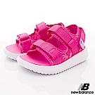 NewBalance 輕量織帶涼鞋款 HSE50PP桃(小童段)