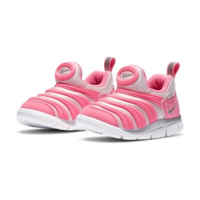 NIKE  運動鞋 毛毛蟲 襪套 小童 童鞋 粉 DC3273606 DYNAMO FREE (TD)