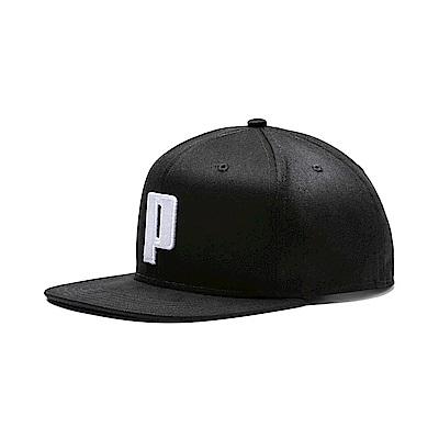 PUMA-男女流行系列蓋帽-黑色