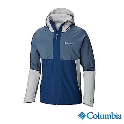 Columbia 哥倫比亞 男款-OT防水外套-灰色 URE00250GY