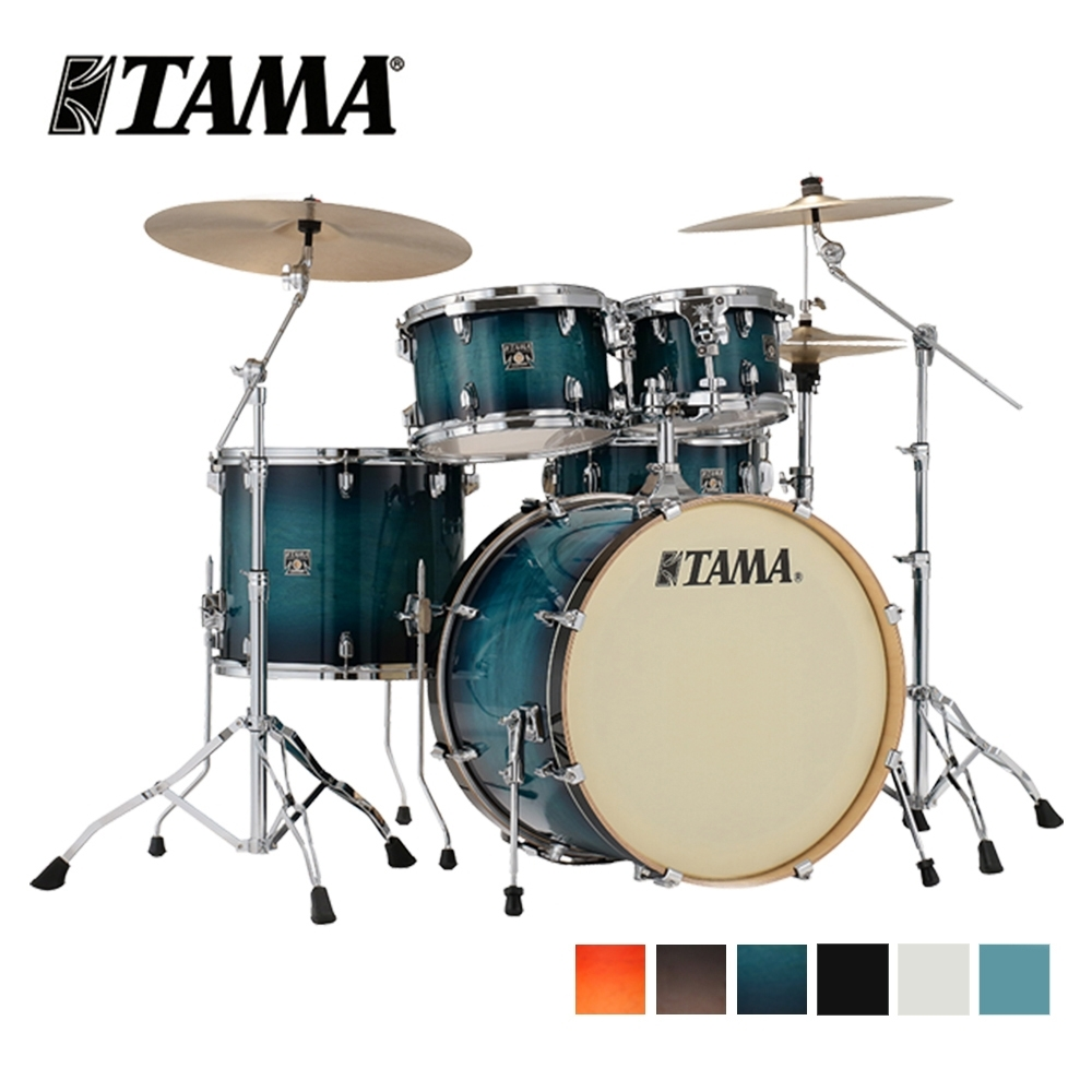 [無卡分期-12期] TAMA Superstar Classic CL52KRS 爵士鼓組 六色