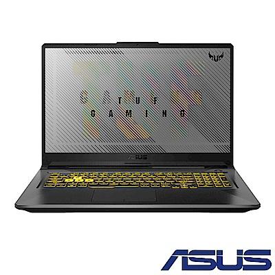ASUS FA706IU 17吋電競筆電(R7-4800H/GTX 1660Ti/8G/512G SSD/TUF Gamning/幻影灰)