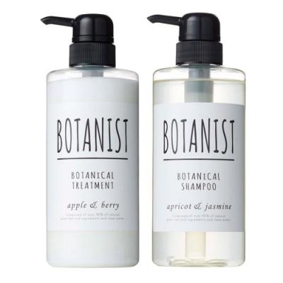 BOTANIST 植物性洗髮精+潤髮乳-滋潤型 490ml x2入