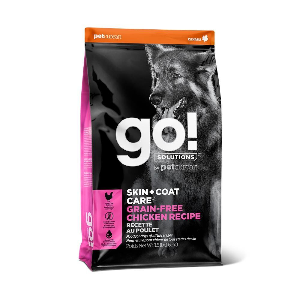 Go! 皮毛保健 無穀放牧雞肉 12磅 全犬配方