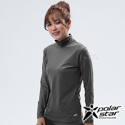 PolarStar 女 遠紅外線高領保暖衣『炭灰』 P18250