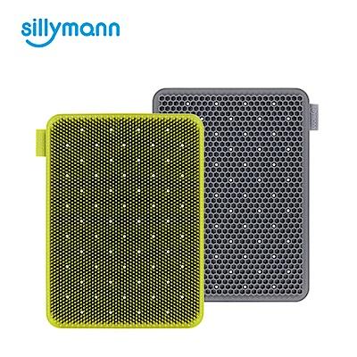 韓國sillymann-100%鉑金矽膠蔬果水(奶)瓶餐具洗碗刷(顏色任選)