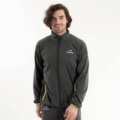 法國【EiDER】男專業超輕薄風衣 /  EIT1601-黑灰