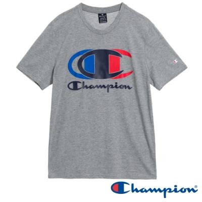 Champion EU Legacy Logo短T(灰色)