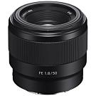 SONY FE 50mm F1.8 (SEL50F18F) 定焦鏡頭(公司貨)