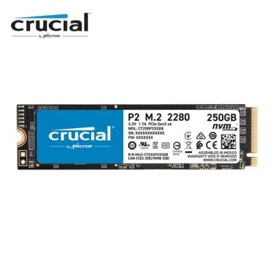 美光 Micron Crucial P2 250GB ( PCIe M.2 ) SSD