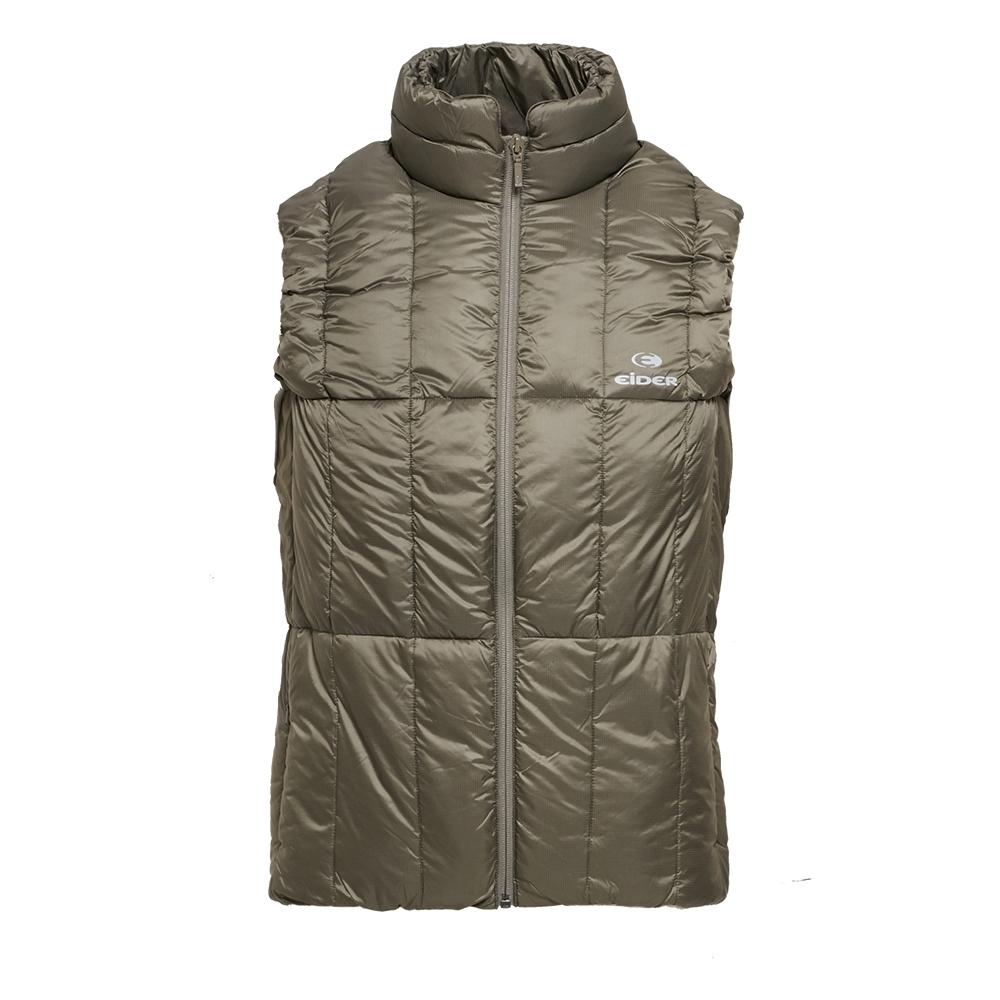 法國【EiDER】可收納輕量保暖透氣羽絨背心 / 8EIV1822-橄欖綠