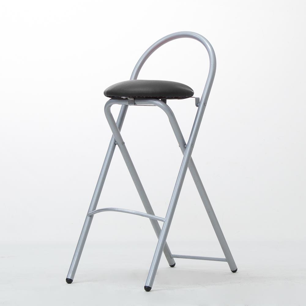 【Amos】歐式簡約高腳摺疊椅/吧檯椅
