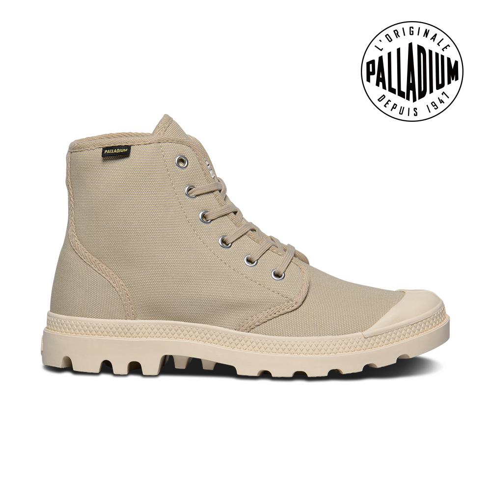 Palladium Pampa Hi ORIGINALE女鞋-卡其