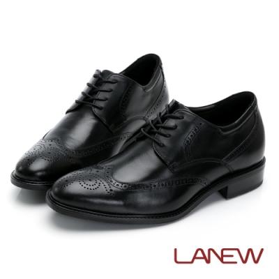 LA NEW 經典雕花 內增高紳士鞋(男226033530)