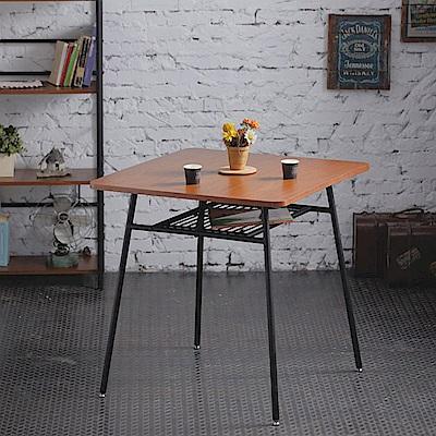 《AccessCo》工業風復古方桌 餐桌 咖啡桌(75x75x73)