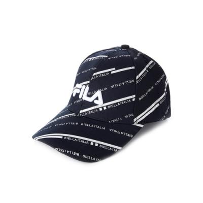 FILA 時尚LOGO帽-黑 HTV-1102-BK